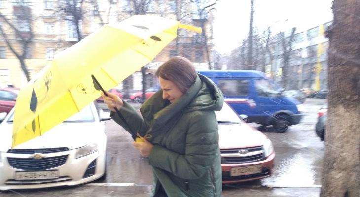 На Ярославль надвигается шторм: срочное предупреждение от МЧС для ярославцев