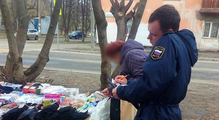 Слезы торговки: в Ярославле во время облав отобрали товар у продавцов
