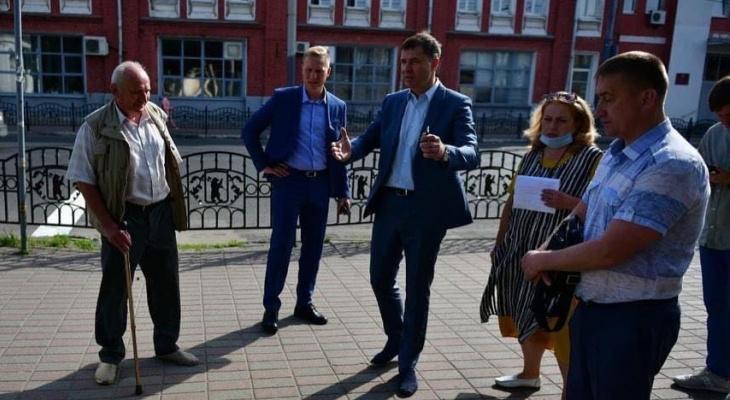 Мэр Ярославля пообещал обустроить ротонду на Первомайской улице