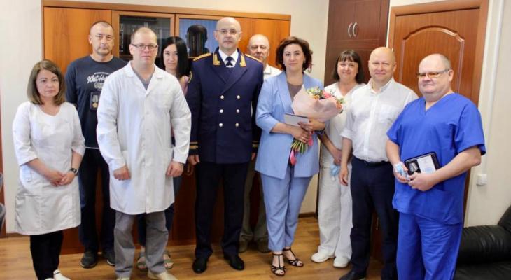 СК наградил ярославцев медалями: кого и за что